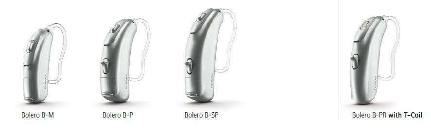 Bolero Belong hearing aid range