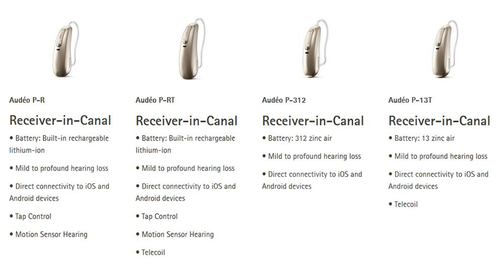 Phonak Paradise Hearing Aids